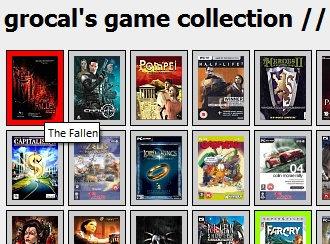 grocal game collection